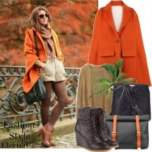 С чем сочетать оранжевый цвет в одежде?