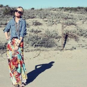 С чем носить юбку летом?