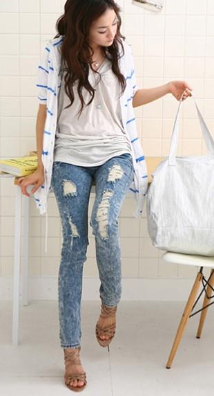 Будут ли рваные джинсы в моде в 2015 году