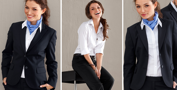 Как подобрать блузку под пиджак