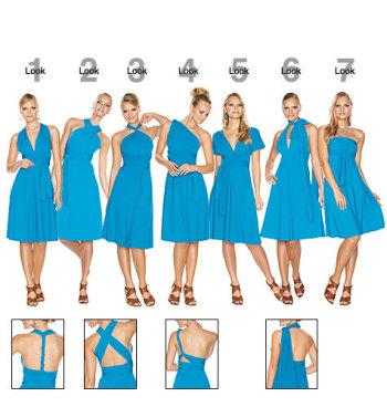 Как носить платье-трансформер