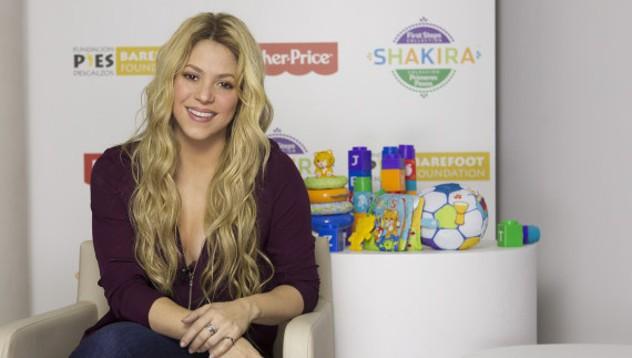 Шакира выпустит коллекцию детских игрушек