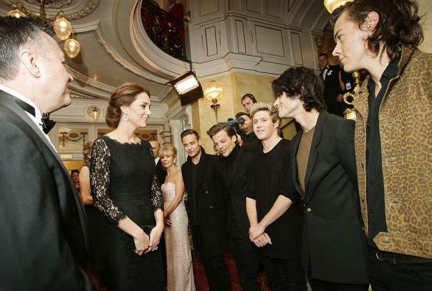 Принц Уильяма и Кейт Миддлтон посетили гала-концерт в театре Палладиум