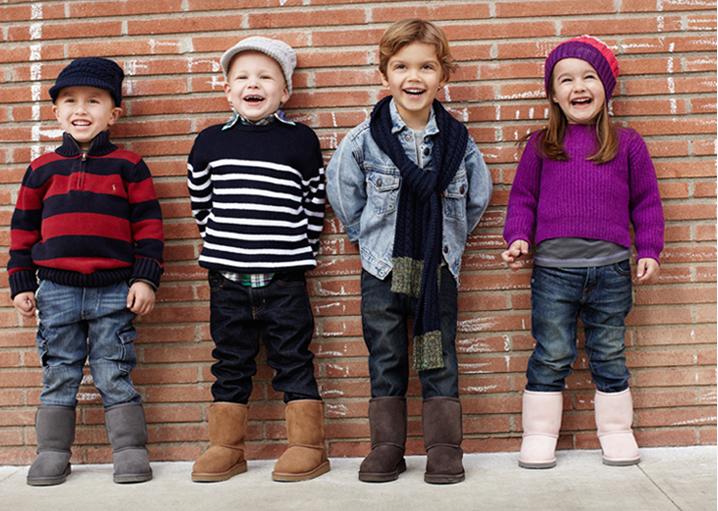 Детские сапоги
