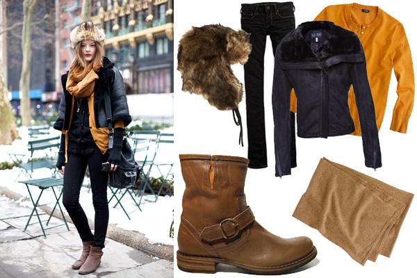 С чем носить зимнюю обувь