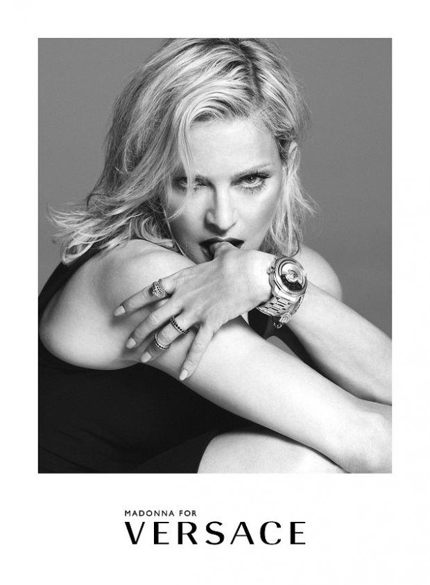 Мадонна стала лицом Versace в четвертый раз