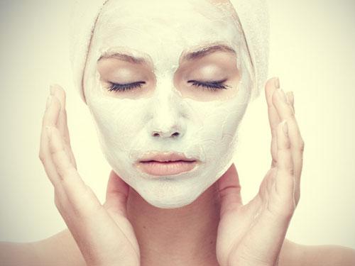 Глина белая маска для лица