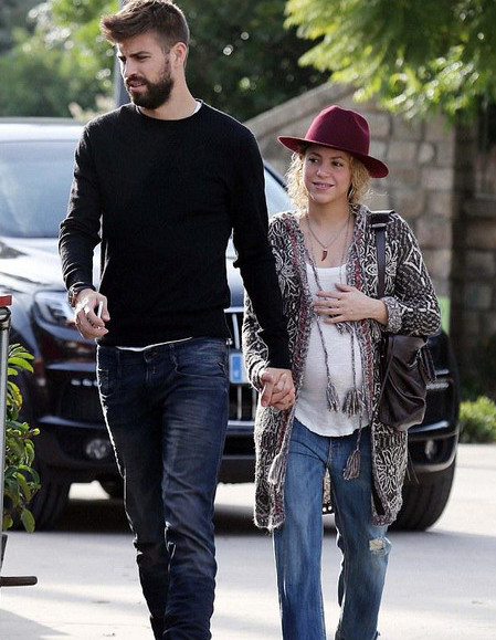Шакира беременна