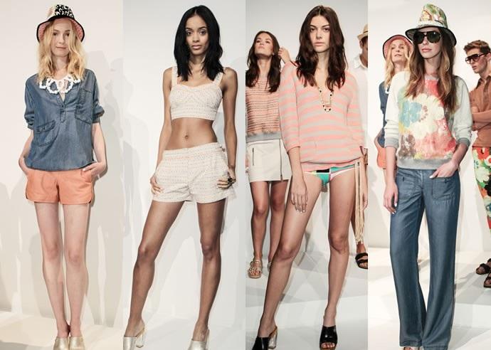 Модные тенденции сезона весна-лето 2 15: синий и