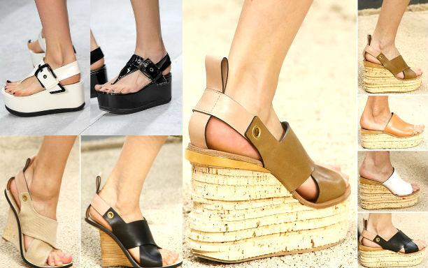Пляжная мода 2015 обувь