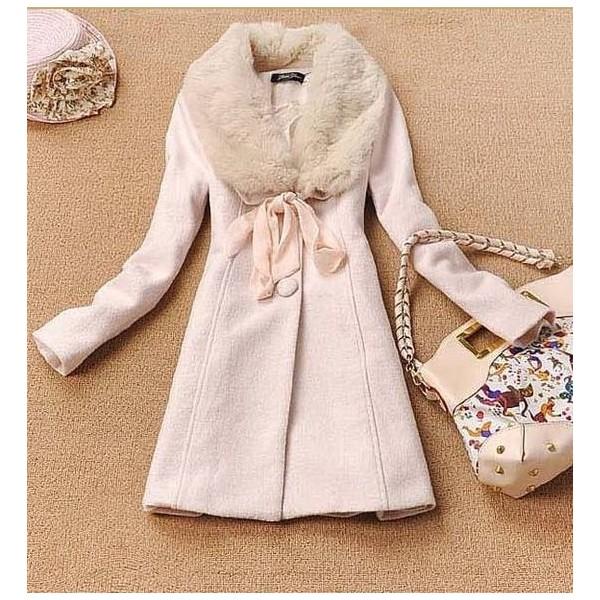 Пальто с меховым воротником с чем носить