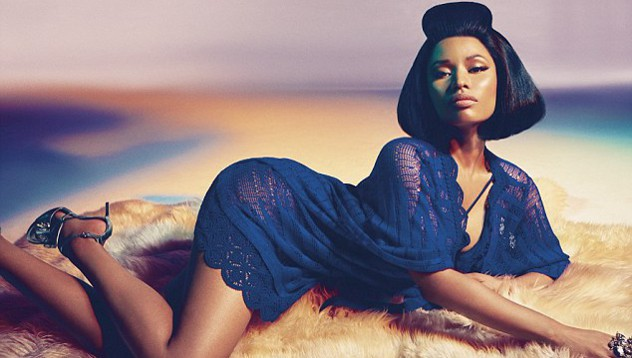 Nicki Minaj сталановым лицом Roberto Cavalli