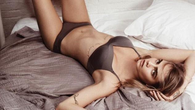 Кара Делевинь участвовала вфотосессиидля весенней кампании DKNY