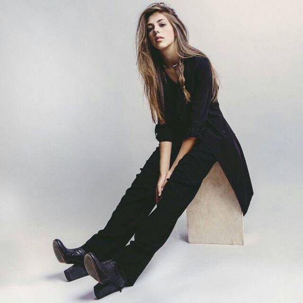Дочь Сильвестра Сталлоне позировала для журнала Vogue Teen