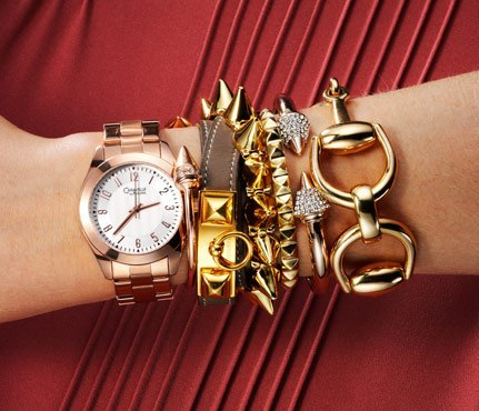 С чем носить массивные браслеты