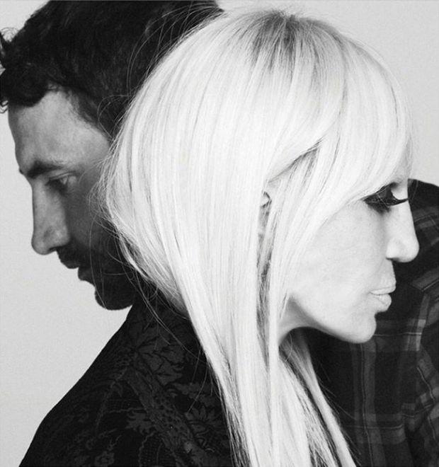 Донателла Версаче стала лицом Givenchy