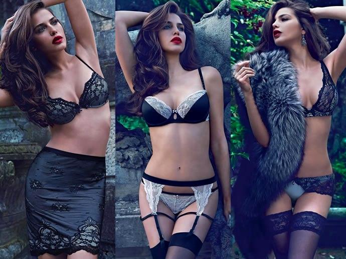 Модное женское нижнее белье лето 2015