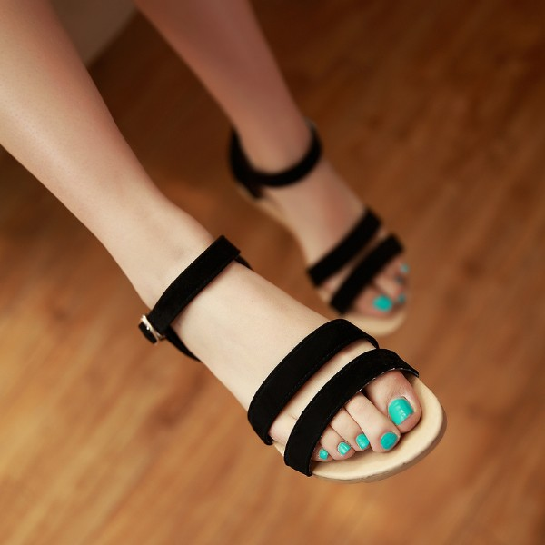2014-summer-open-toe-sandals-female-flat-heel-flat-font-b-maternity-b-font-anti-slip
