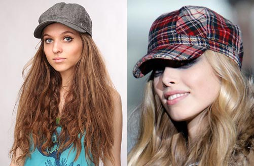 Женская кепка – модный аксессуар