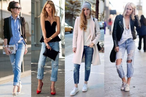 Мода 2015 на джинсы
