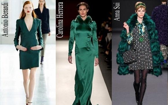 Модные цвета осени 2015