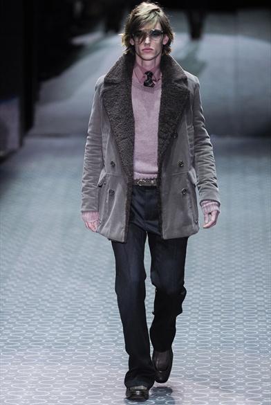 Зимняя мода на мужские шубы