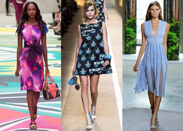 Что модно летом платье