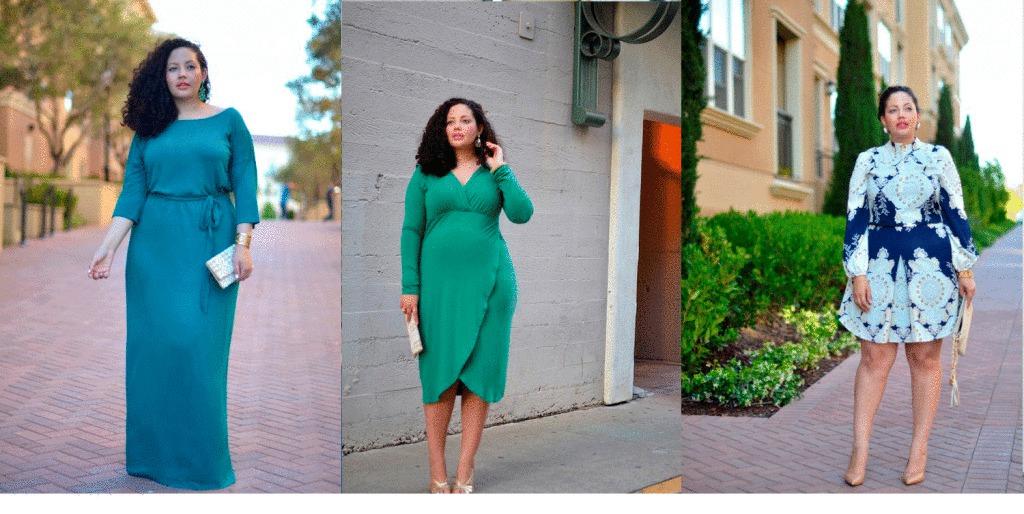 Мода осени 2016 для полных женщин