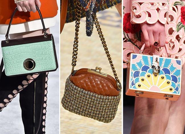 Осенняя мода 2016 на сумки