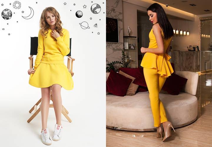 Два лука в желтом цвете