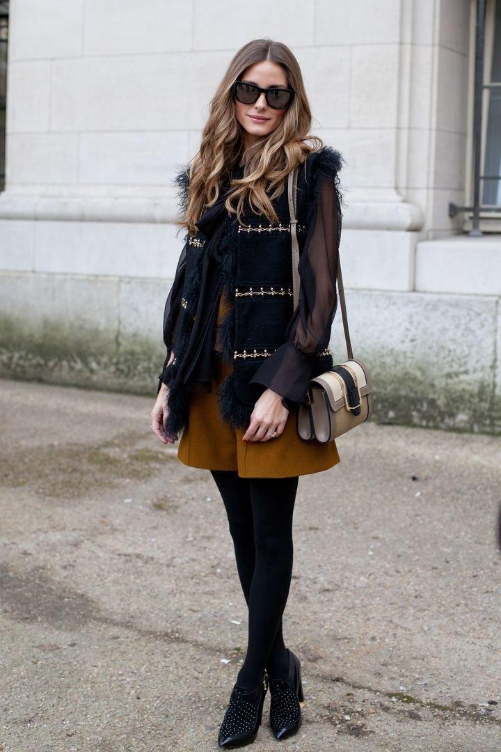 Девушка в модном луке